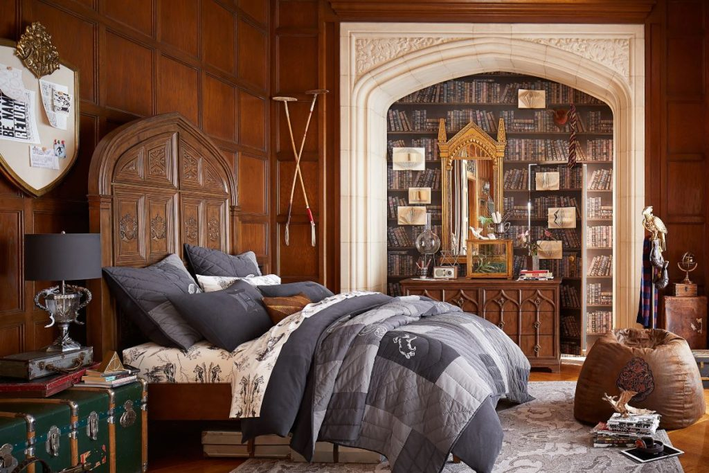 Gryffindor, Hufflepuff, Ravenclaw, Slytherin – How to Create the Perfect Harry Potter Themed Bedroom