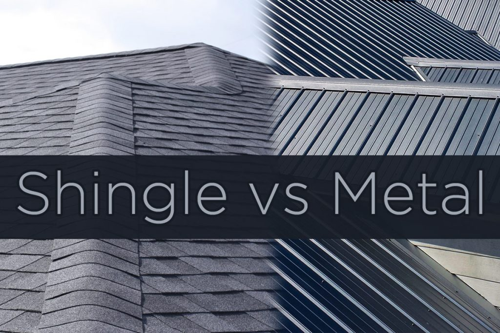 Home Residential Roofing Options - Shingles vs Metal