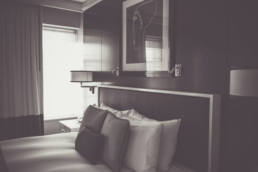 How to soften the look of a room with dark furniture
