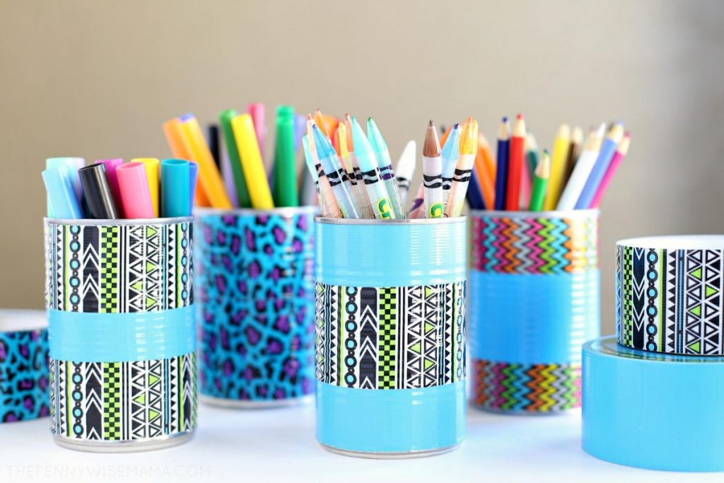 Organize Your Study With Creatively Designed Pen Pencil Holders