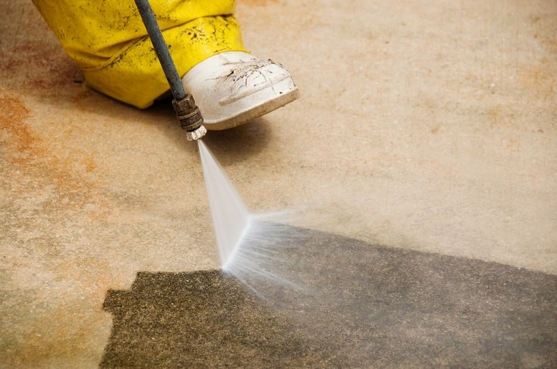 The Best Ways to Remove Paint Stains Off Your Concrete