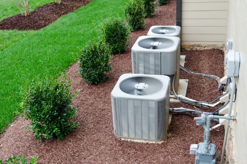 Make Your Air Conditioner Fit in With the Theme of the Garden