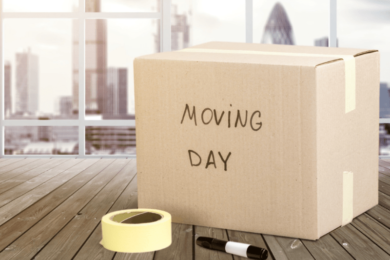 moving out to new place
